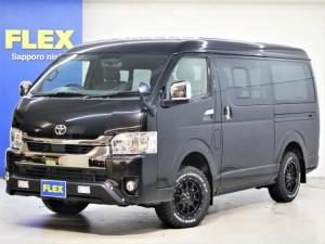 トヨタ ハイエースバン スーパーGL ダークプライムII FLEX増しリーフ ベッド フリップダウン