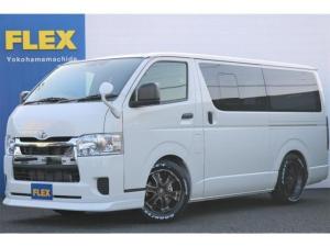 トヨタ ハイエースバン ロングDX GLパッケージ PVM付 DX エアロナビ ライトカスタム済