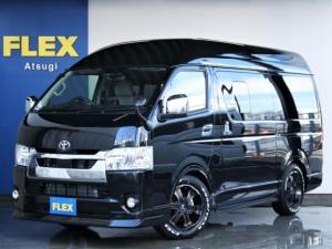 トヨタ ハイエースバン ロングDX GLパッケージ FLEXキャンピングNH-タイプ2 バンライフ仕様 サブバッテリーシステム 冷蔵庫