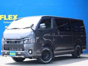 トヨタ ハイエースバン スーパーGL ダークプライムII ロングボディ 【FLEX BLACKオフロードスタイル】
