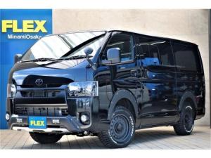 トヨタ ハイエースバン  パーキングサポート FLEXブラックエディション ナビETC付き