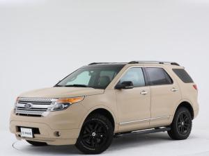 フォード エクスプローラー XLT エコブースト ユーザー買取車両 / 2WD / ベージュペイント / グッドリッチ / 後席アルパイン製フリップダウンモニター / 禁煙車