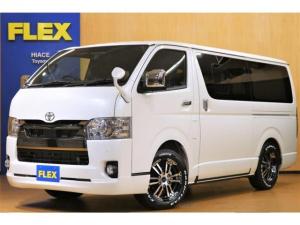 トヨタ ハイエースバン スーパーGL ダークプライムII ロングボディ FLEXオリジナル内装架装Ver4
