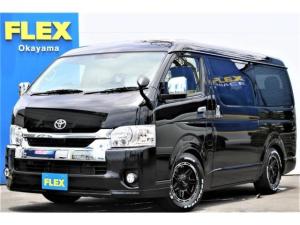 トヨタ ハイエースワゴン GL ロング 新車 ワゴンGL FLEX内装架装VER.1 トヨタセーフティセンス パワースライドドア LEDヘッドランプ パノラッミックビューモニター デジタルインナーミラー ステアリングスイッチ