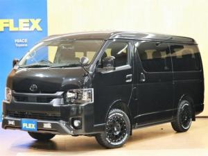 トヨタ ハイエースワゴン GL パーキングサポート オフロード+Black Edition/バンパーガード/16インチAW/オープンカントリー/コンビステアリング/艶消しインパネ/ナビETC/シートカバー/LEDテールランプ