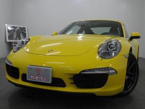 ポルシェ 911 スピードイエロー/7速MT/991前期モデル/純正OPAW