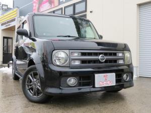 日産 キューブキュービック 15RS FOUR 4WD ABS キーレス 社外アルミ