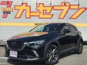 マツダ CX-3 XD ツーリング1.5ディーゼル4WD 衝突軽減ブレーキ