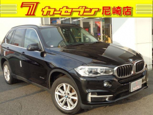 BMW X5 xDrive 35i 黒革 インテリセーフ 前後カメラ