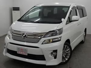 トヨタ ヴェルファイア 2.4Z ゴールデンアイズ 4WD 純正ナビ/フルセグTV