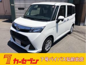 トヨタ タンク X S パワースライド 横滑り防止 衝突回避システム 4WD