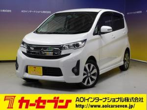 三菱 eKカスタム T ナビTV バックカメラ オートHID 15AW CD SD Pスタート