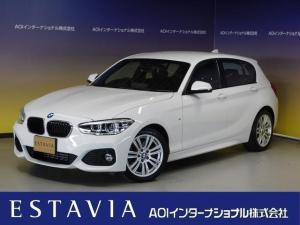 BMW 1シリーズ 118d Mスポーツ HDDナビ バックカメラ 衝突軽減 車線逸脱 純正17AW LEDオートヘッドライト ETC インテリジェントキー クルーズコントロール