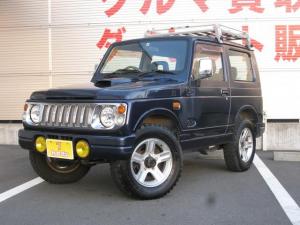スズキ ジムニー ワイルドウインド 4WD/メッキグリル/スズキルーフラック/CDオーディオ/純正16インチAW