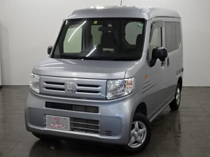 ホンダ N-VAN G 4WD/ワンオーナー/社外オーディオ/TV/冬タイヤ付き/横滑り防止付き