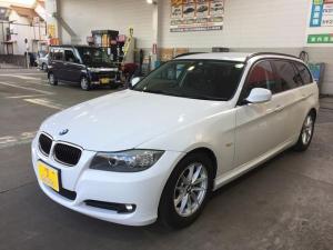 BMW 3シリーズ 320iツーリング ユーザー買取 後期 走行56000キロ 純正HDDナビ ETC HIDヘッド キーレス パワーシート プッシュスタート 車検R4/9