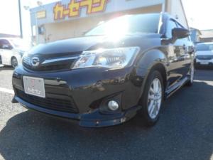 トヨタ カローラフィールダー 1.5G エアロツアラー ユーザー買取/ワンオーナー/SDナビ/Bluetooth/禁煙/バックカメラ/取説保証書/スペアキー