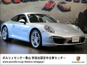 ポルシェ 911 カレラ PDK 左H 2015年モデル 認定中古車保証付