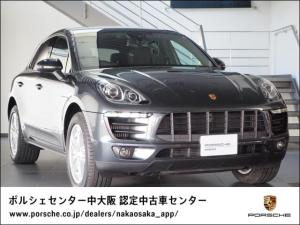 ポルシェ マカン S PDK 4WD 1オーナー/認定中古車保証/禁煙車