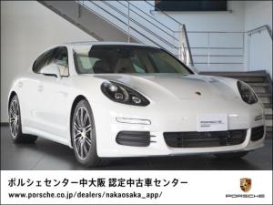 ポルシェ パナメーラ エディション PDK 認定中古車保証/禁煙車/前後シートH