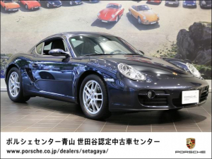 ポルシェ ケイマン ベースグレード 2007年モデル 認定中古車保証付