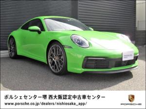 ポルシェ 911 911カレラ4S スポクロ/スポエキ/RSスパイダーホイール/レザーインテリア/マットカーボンインテリア/PDCC/リアアクスルステアリング/ACC/18wayシート/スポーツシャシー