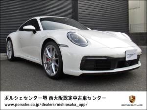 ポルシェ 911 911カレラS スポーツクロノPKG/ACC/フロントリフト/アダプティブクルーズコントロール/14way パワーシートメモリーパッケージ