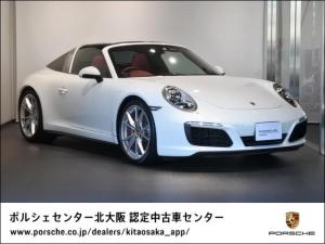 ポルシェ 911 911タルガ4S 2017年モデル 認定中古車保証