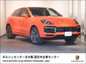 ポルシェ カイエン ターボ 2020年モデル 新車保証継承