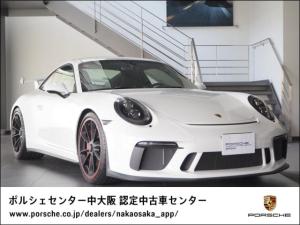 ポルシェ 911 911GT3 レザーインテリアPKG/スポクロ