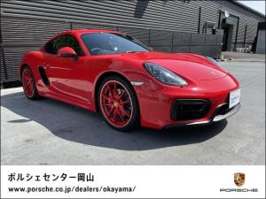 ポルシェ ケイマン GTS MY16 GTSインテリア パワステ+