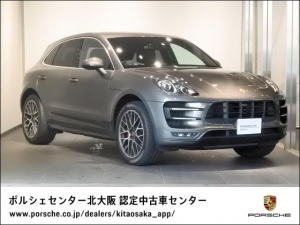 ポルシェ マカン マカン ターボ 2016年モデル 認定中古車保証1年付