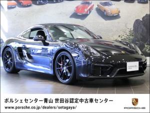 ポルシェ ケイマン GTS 2016年モデル 右H 認定中古車保証 アルカンターラ製ルーフライニング オートマチックエアコンディショナー 電動格納式ドアミラー シートヒーター サテンブラックホイール