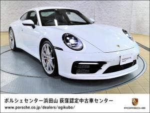 ポルシェ 911 911カレラ4S アダプティブクルーズコントロール レーンキープ LEDヘッドライトシステム スポーツクロノパッケージ スポーツサスペンションPASMスポーツエグゾーストシステム 20/21インチカレラSホイール