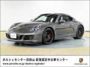 ポルシェ 911 911カレラGTS インテリアパッケージ パークアシスト/リバーシングカメラ カラーメーター/ホワイト 電動可倒式ドアミラー アルミルック燃料キャップ