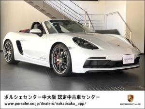 ポルシェ 718ボクスター 718ボクスターGTS 4.0 新車保証継承/GTSインテリア