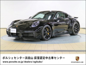ポルシェ 911 911ターボS スポーツデザインパッケージ ガラスサンルーフ PASM付きスポーツサスペンション スポーツエグゾーストシステム 20-/21-inch 911Turbo S Exclusive デザインホイール