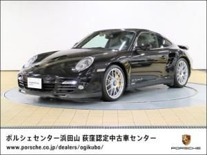 ポルシェ 911 911ターボS チルト/スライド式電動サンルーフ シートヒーター PCCB