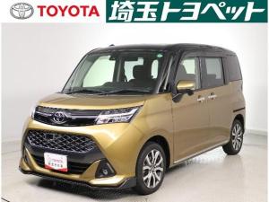 トヨタ タンク カスタムG-T SDナビ フルセグ バックカメラ ETC