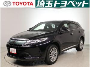 トヨタ ハリアー プログレスメタル&レザー LEDライト・パワーゲート