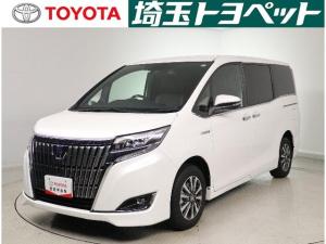 トヨタ エスクァイア ハイブリッドGi プレミアムパッケージ LEDライト ナビ