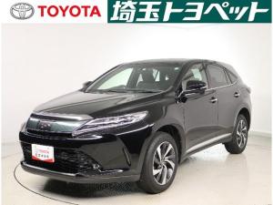 トヨタ ハリアー プレミアム メタル&レザー ワンオーナー 革シート