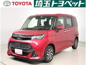 トヨタ タンク カスタムG メモリーナビ・ETC・フルセグ・Bカメラ・当社試乗車