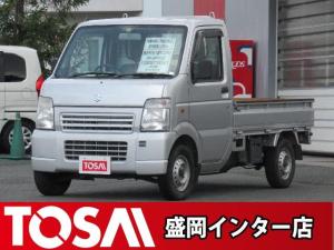 スズキ キャリイトラック KC 4WD 5MT マニュアルAC 三方開 パワステ