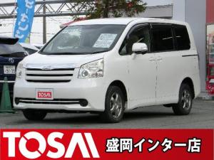 トヨタ ノア X Lセレクション 4WD 純正ワンセグHDDナビ HID ETC フロントワイパーデアイサー