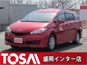 トヨタ ウィッシュ 1.8X ワンオーナー 社外CD キーレス 横滑り防止装置