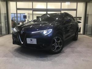 アルファロメオ ステルヴィオ 2.2ターボ ディーゼルQ4スポーツパッケージ 当店試乗車 新車保証継承 マキシマムケア ロードサービス付 レザーシート 専用ホイール
