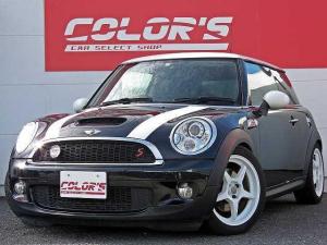 MINI クーパーS 買取車 HID キーレス OZホワイト17AW 社外リアテール ホワイトルーフ 6速 ディーラー車 センター出しマフラー リアワイパー