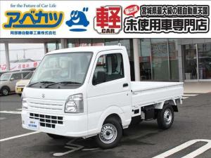 スズキ キャリイトラック KCエアコン・パワステ 3AT 4WD 届出済未使用車 軽トラック