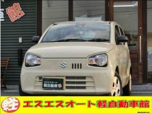スズキ アルト L CDプレーヤー付 スズキセーフティサポート装着車 届出済未使用車